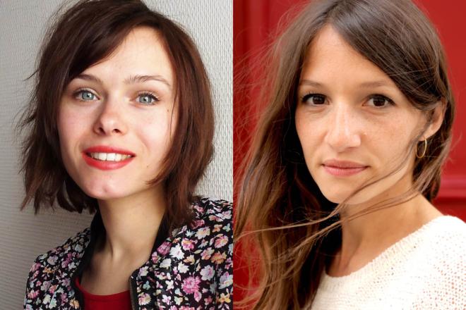 Julie Rossello Rochet et Lucie Rébéré