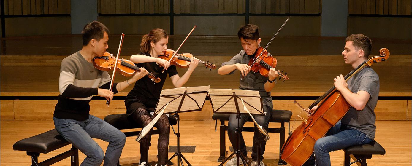 Quatuor Arlequin © Blaise Adilon