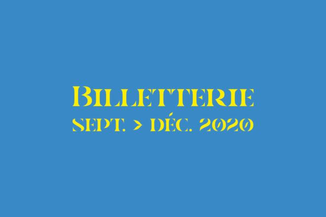 Billetterie 2020-21