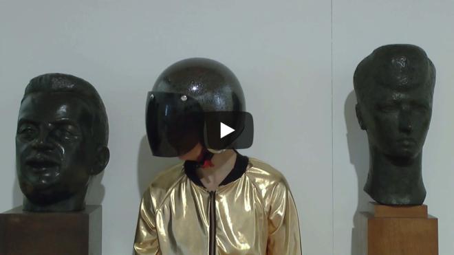 Casconaute à l'espace Grenette, musée Paul Dini
